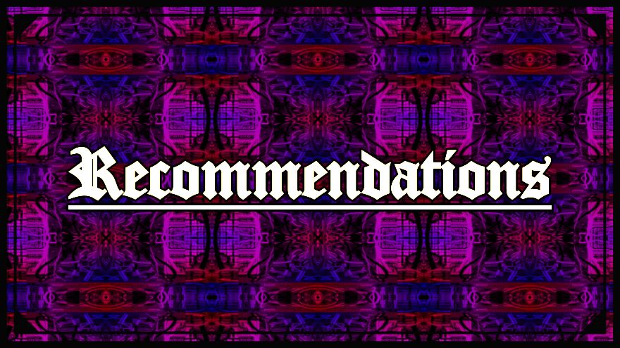 The Recommendations Section