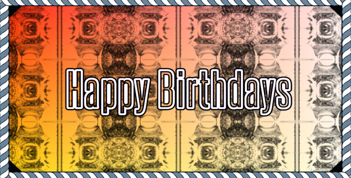 Happy Birthdays Header